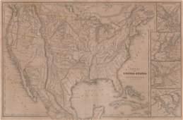 1843 William Woodbridge United States Map