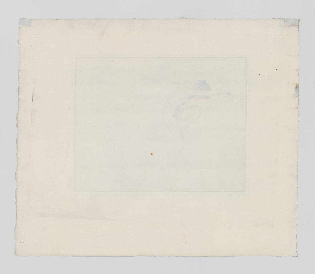 Troy Kinney Trial Proof Etching - 5
