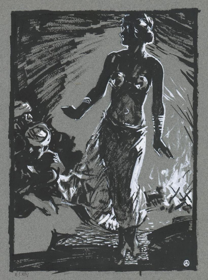 Arthur Allis (1904 - 1973) Original Art