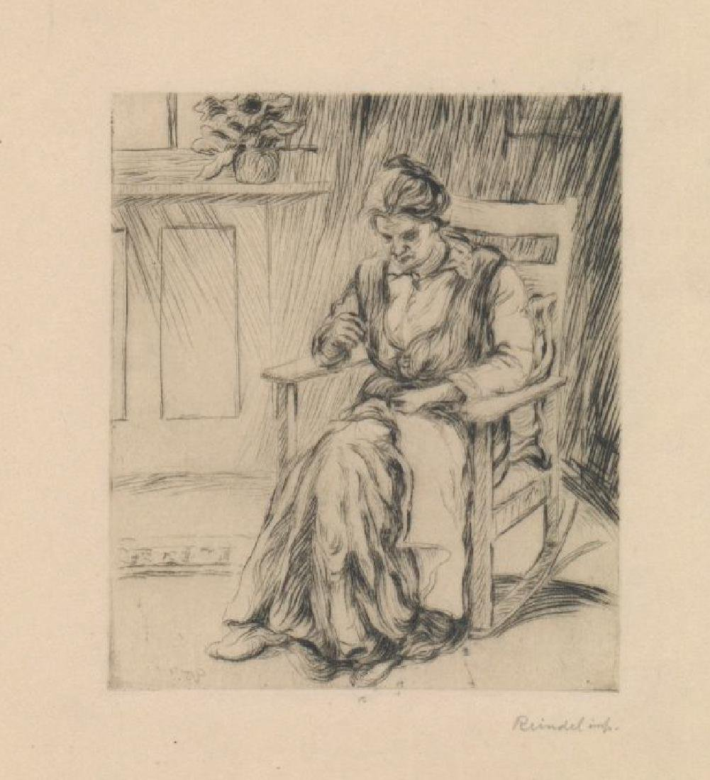 William George Reindel Drypoint