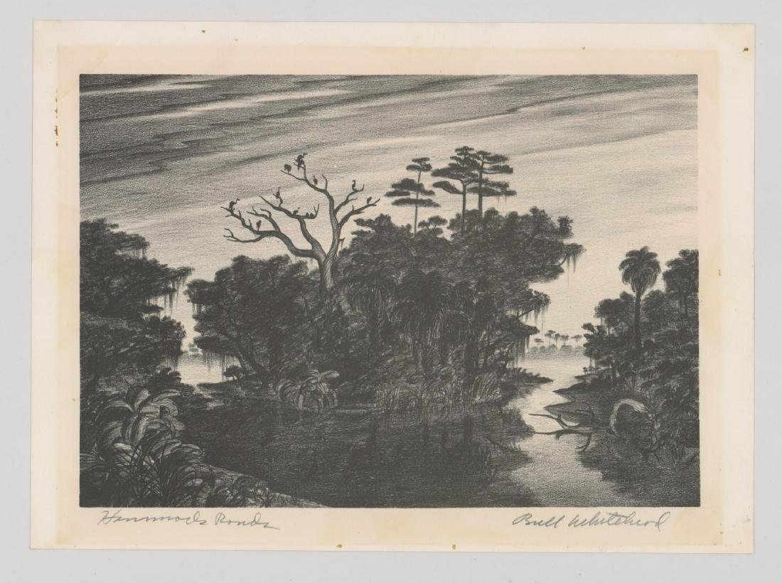 Buell Whitehead Lithograph [Hammock Ponds] - 2