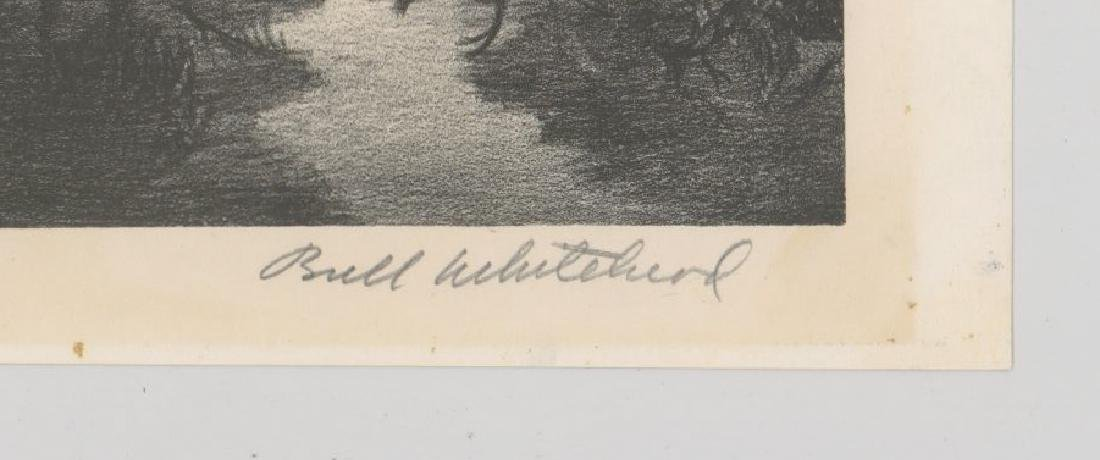 Buell Whitehead Lithograph [Hammock Ponds] - 3