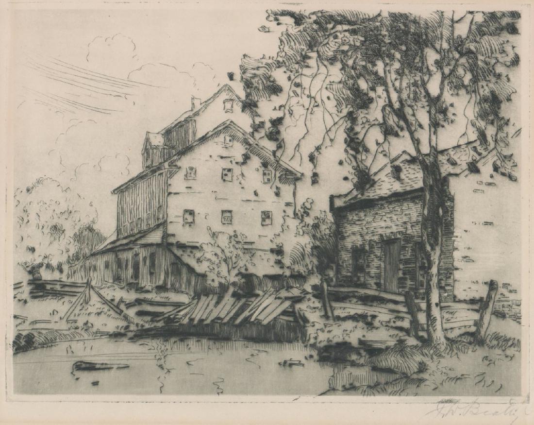 John William Beatty (Ontario, Canada) Etching