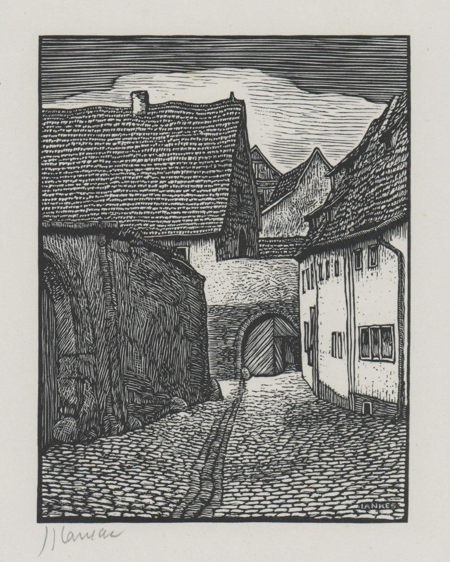 Julius Lankes Woodcut