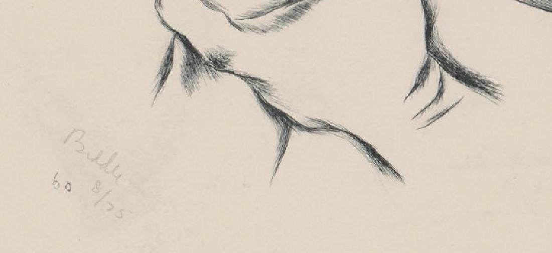George Biddle Lithograph [The Dagger] - 3