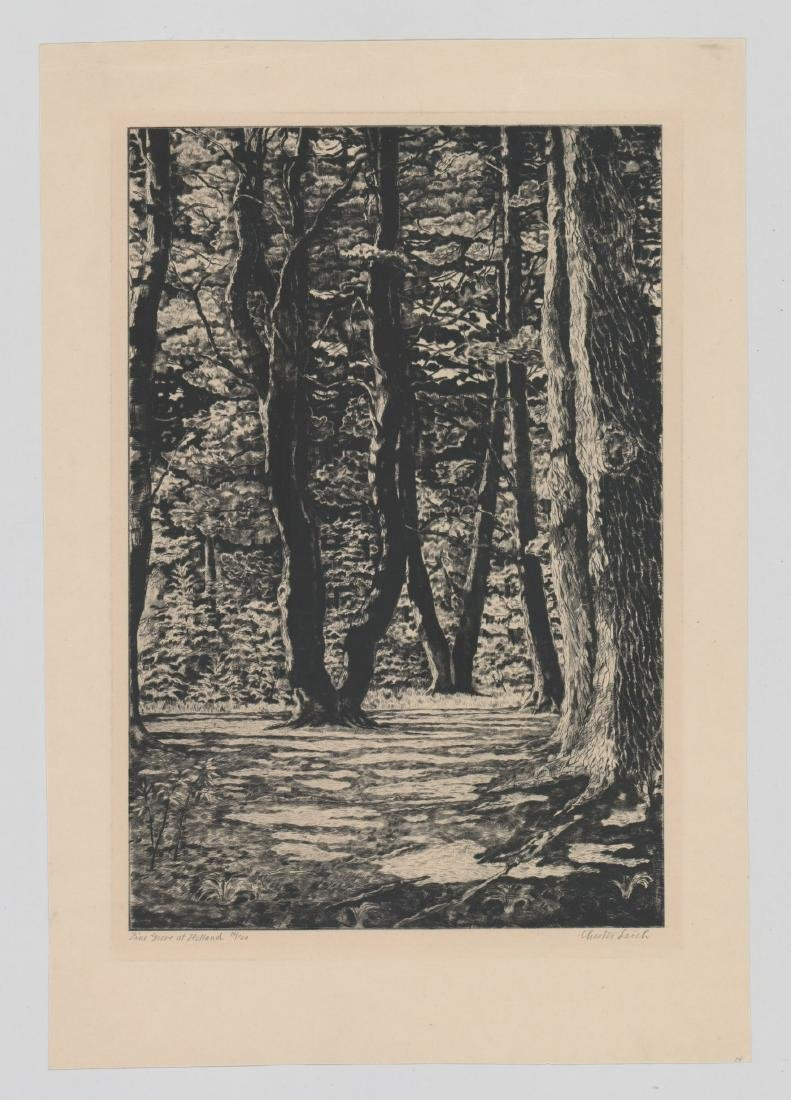 Chester Leich (1889 - 1978) Etching - 2