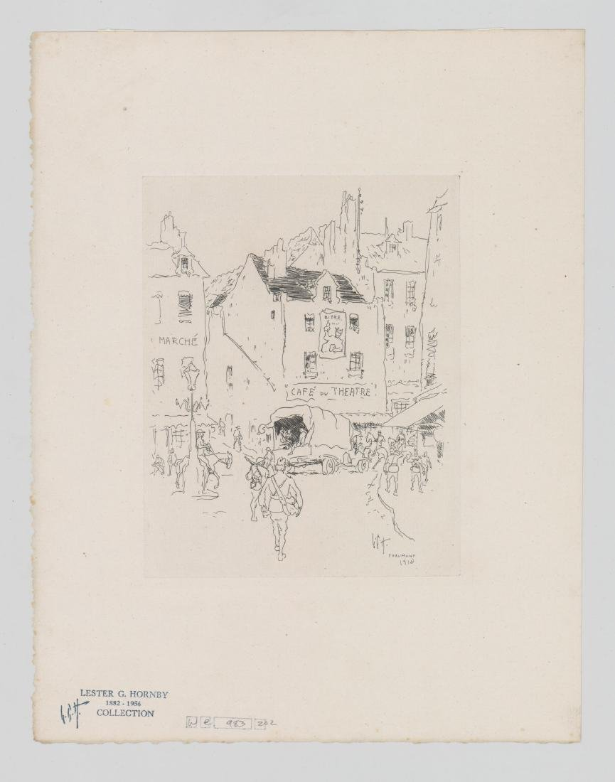 Lester G. Hornby Etching - 2