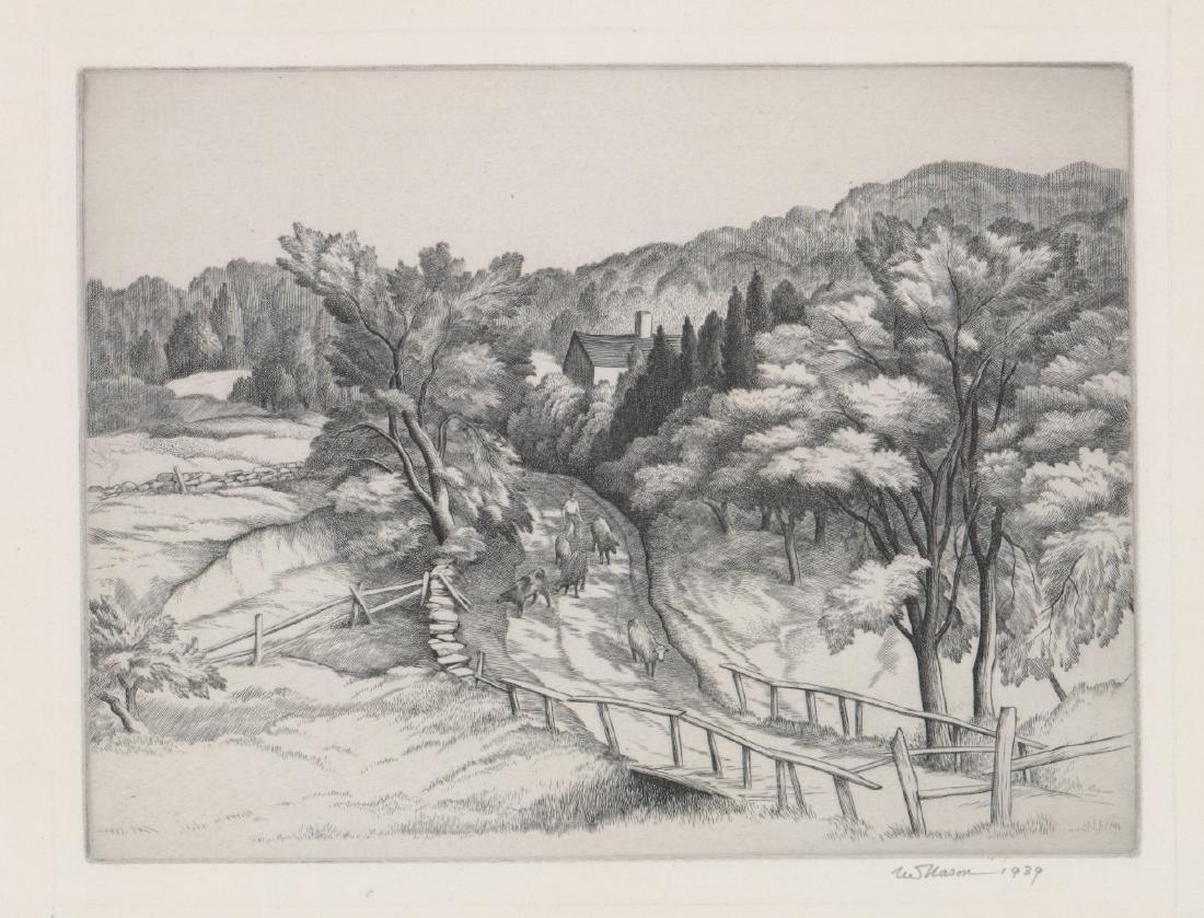 Thomas Nason Etching