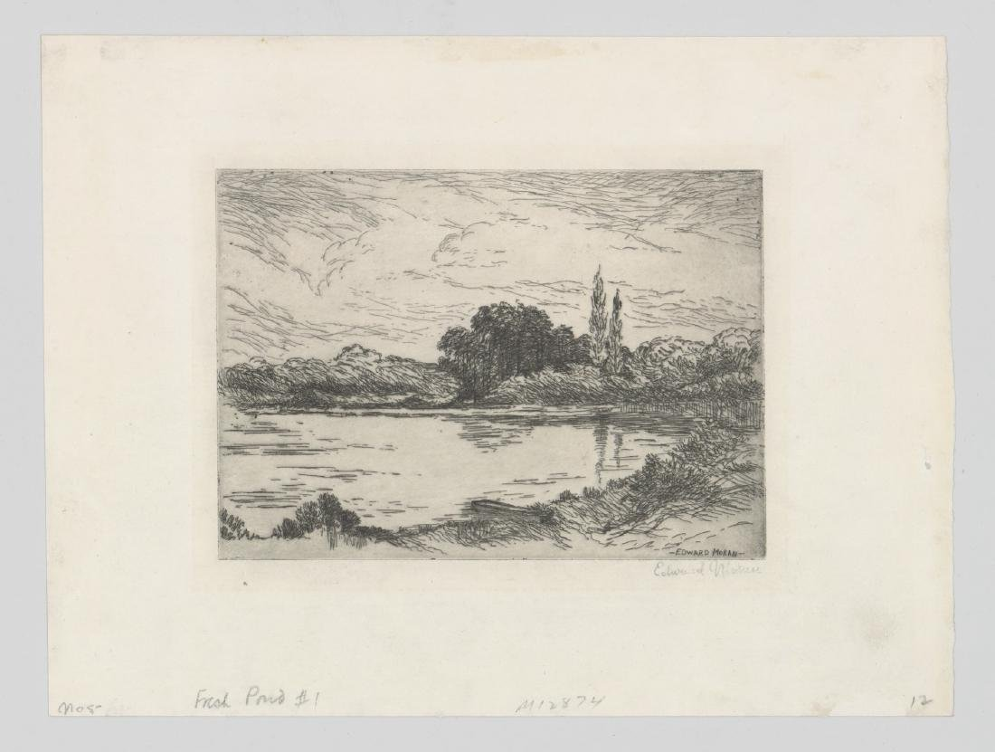 Edward Moran Etching - 2