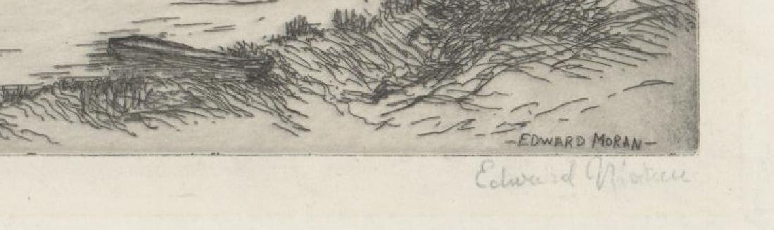 Edward Moran Etching - 3