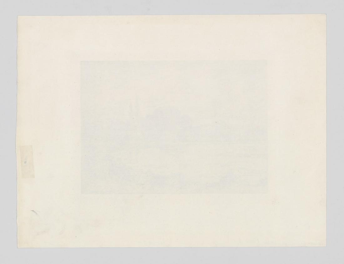 Edward Moran Etching - 4