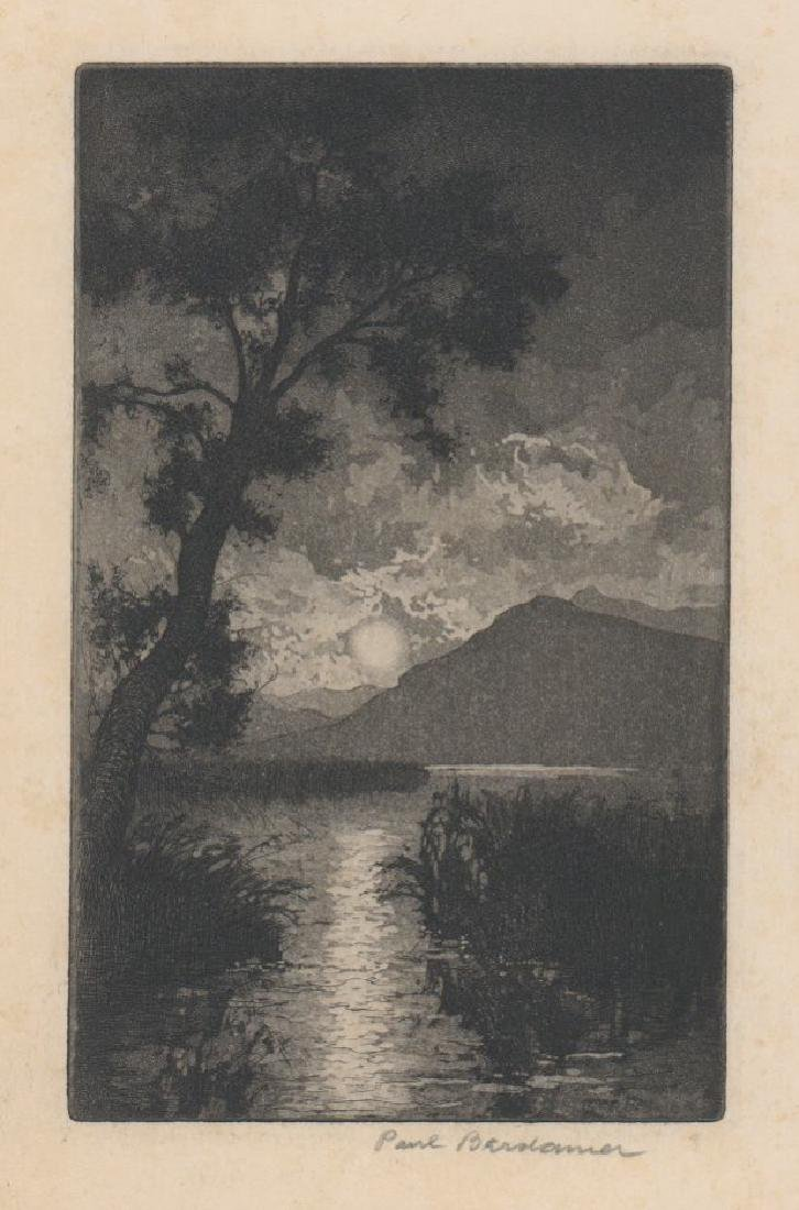 Paul Berdanier Sr. (New York 1879 - 1961) Etching