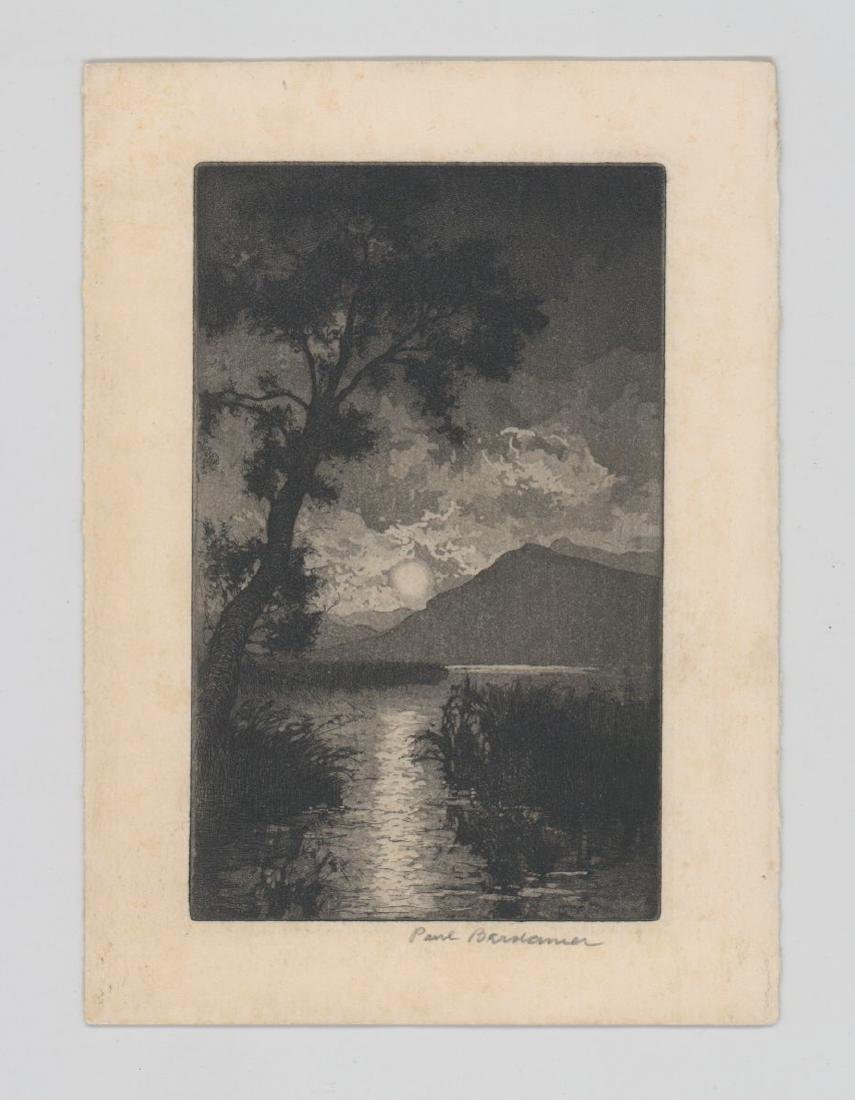 Paul Berdanier Sr. (New York 1879 - 1961) Etching - 2