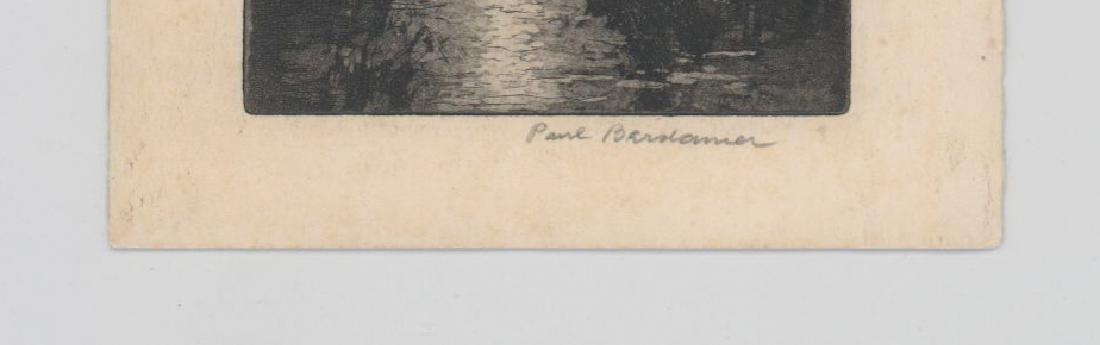 Paul Berdanier Sr. (New York 1879 - 1961) Etching - 3