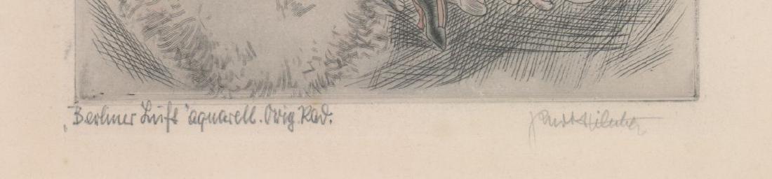 Kurt Hilscher Etching - 3