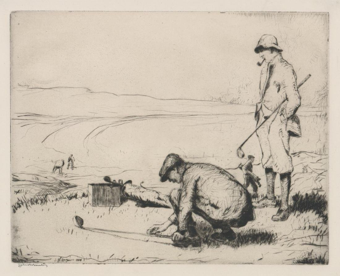 John Rankin Barclay (1884 - 1962) Etching