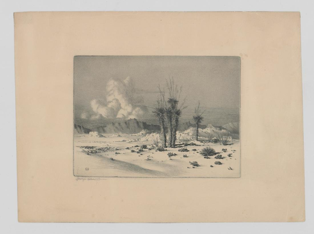 George Elbert Burr Etching - 2