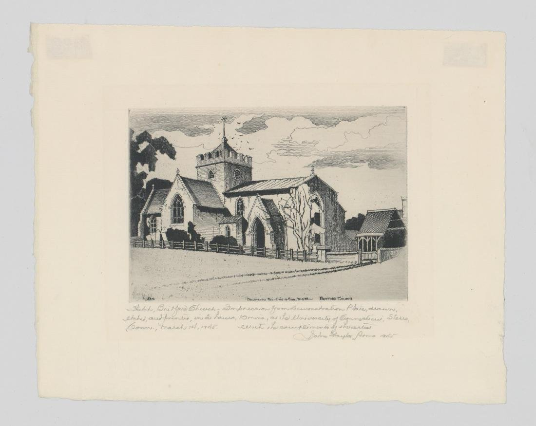John Taylor Arms Demonstration Plate Etching - 2