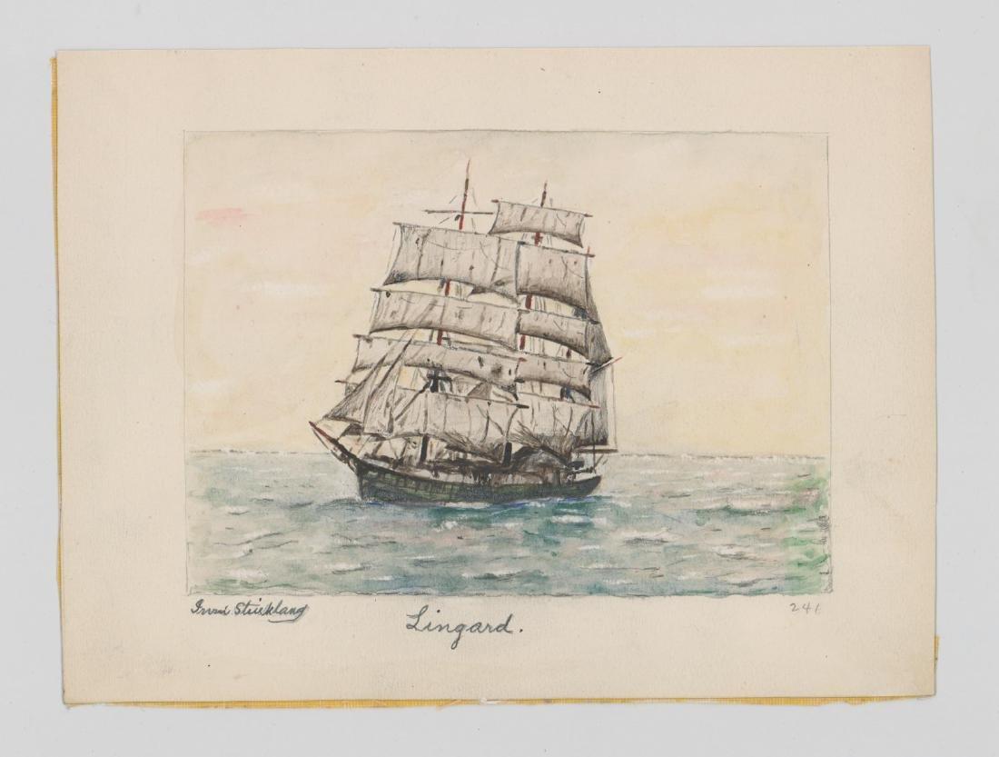 Irvin E. Strickland (Connecticut) Watercolor - 2