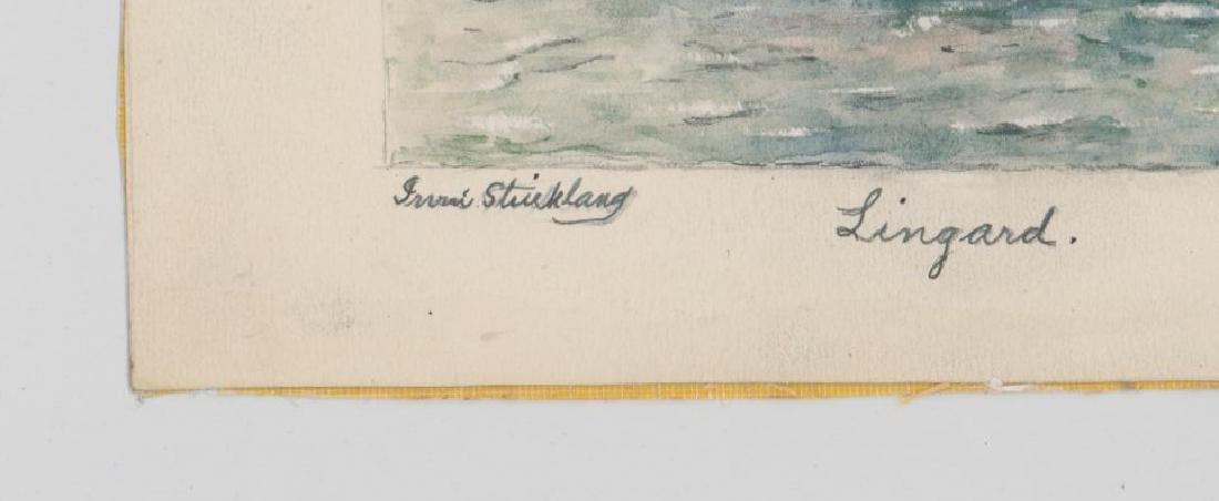 Irvin E. Strickland (Connecticut) Watercolor - 3