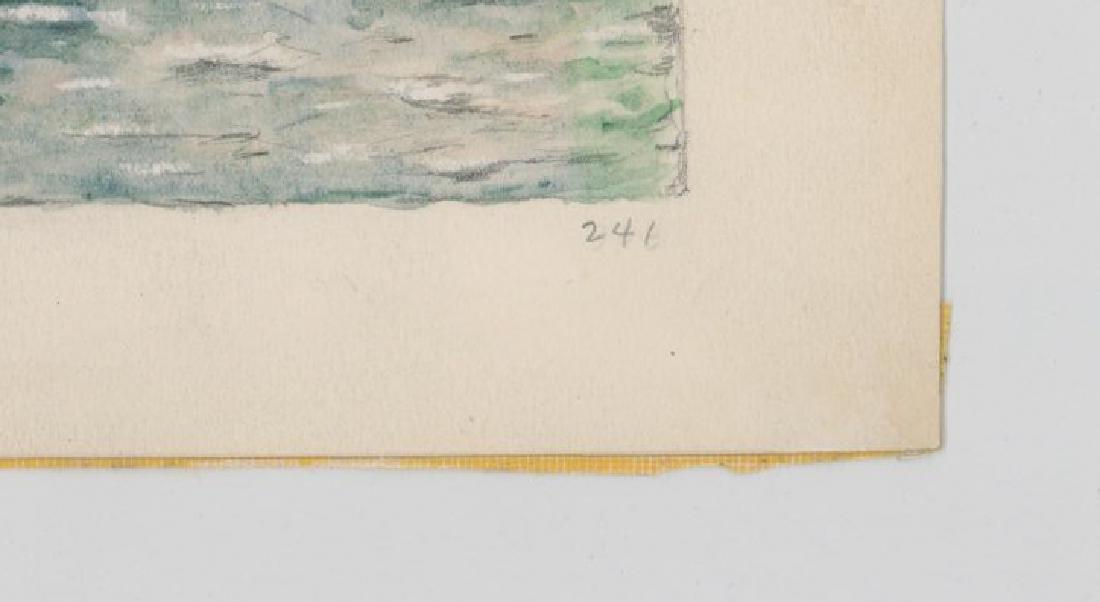 Irvin E. Strickland (Connecticut) Watercolor - 4