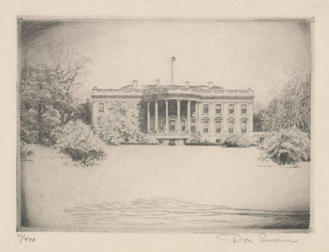 Don Swann Etching