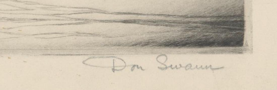 Don Swann Etching - 3