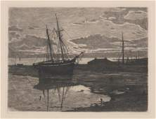 Robert Currie Etching
