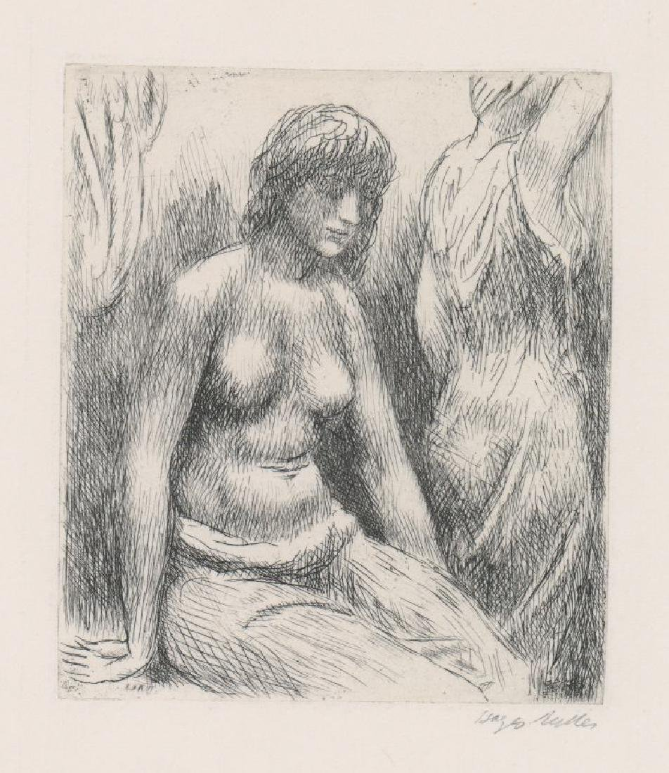 Kenneth Hayes Miller Etching