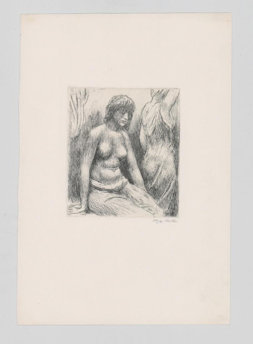 Kenneth Hayes Miller Etching - 2