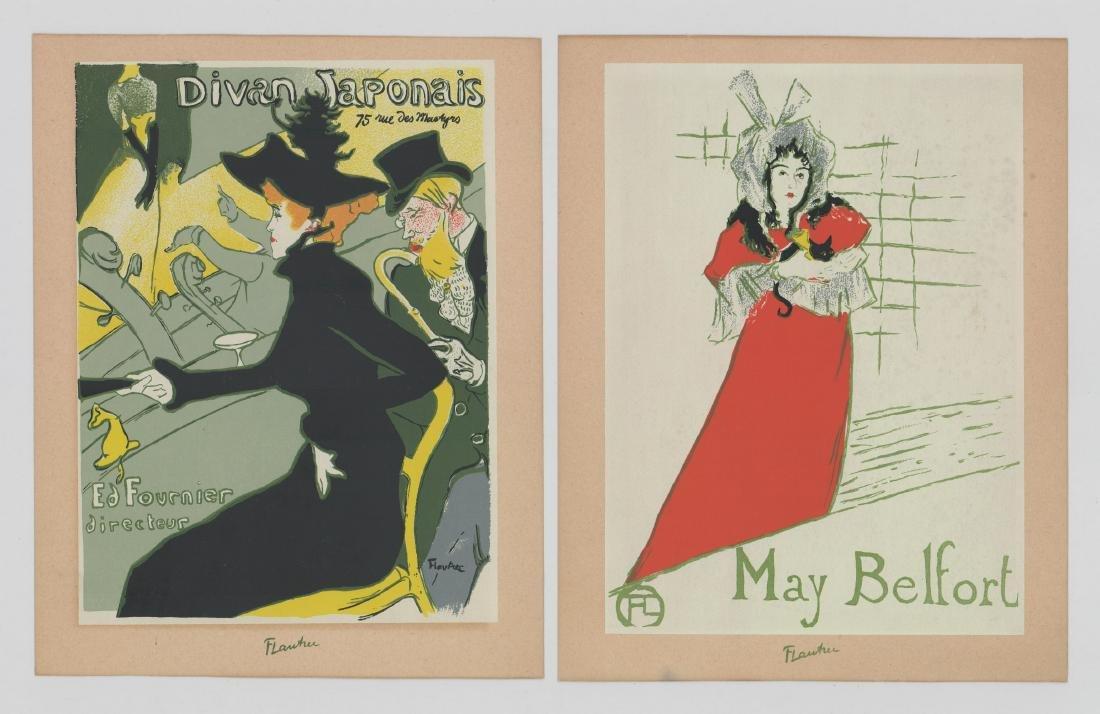 Henri Marie Raymond Toulouse-Lautrec Lithographs