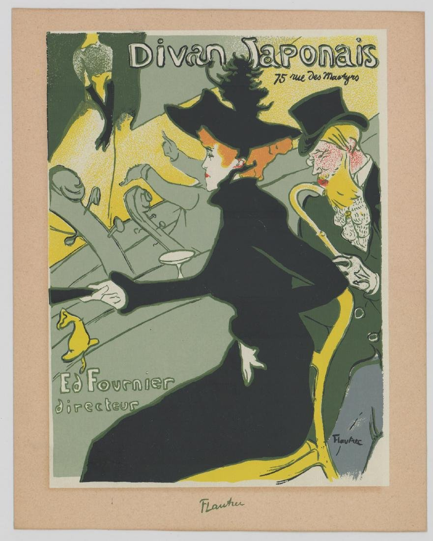 Henri Marie Raymond Toulouse-Lautrec Lithographs - 2