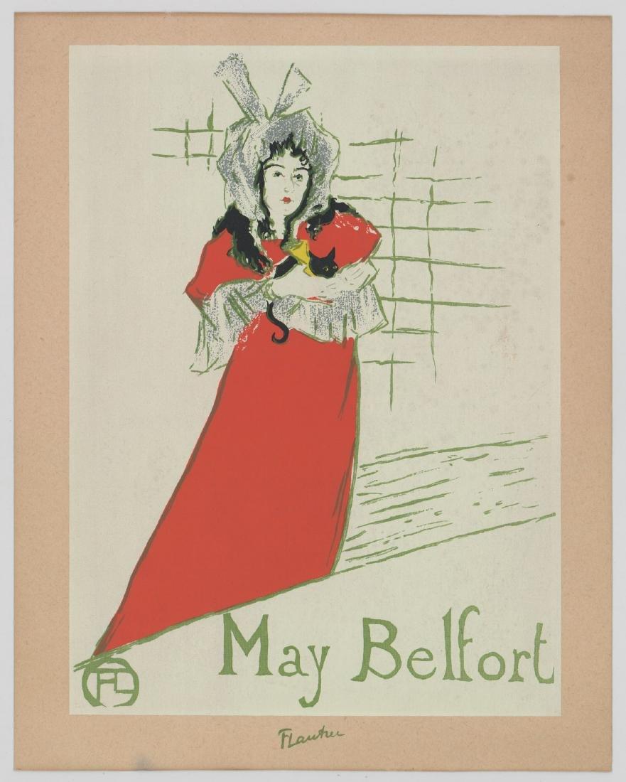 Henri Marie Raymond Toulouse-Lautrec Lithographs - 3