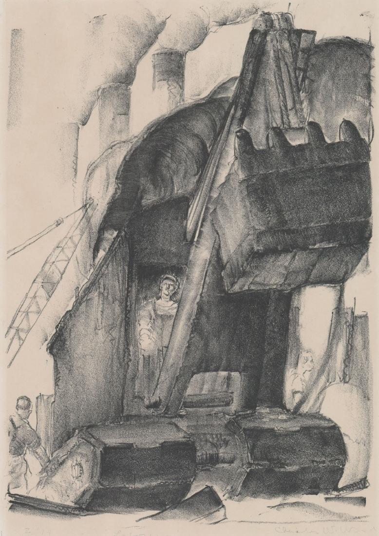 Charles W. Ward Lithograph [Laborer]