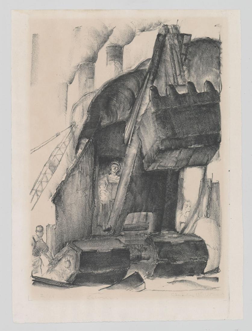 Charles W. Ward Lithograph [Laborer] - 2