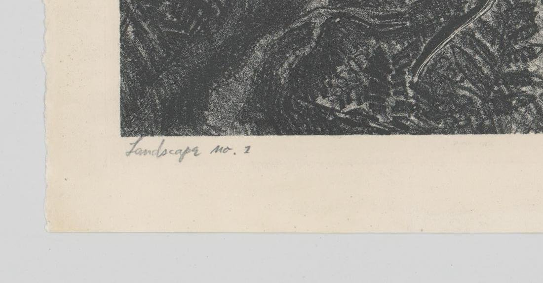 Ernest O. Mondorf Lithograph [Landscape No.1] - 4