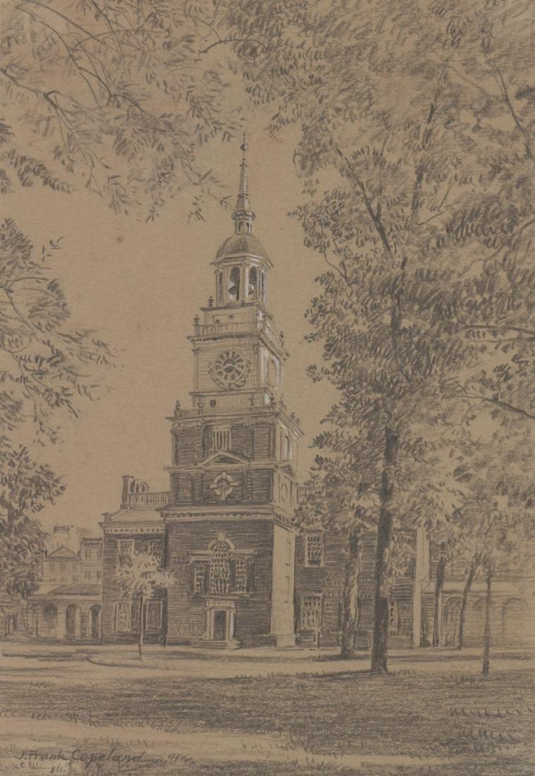 Joseph Frank Copeland (1872 - 1957) Original Art