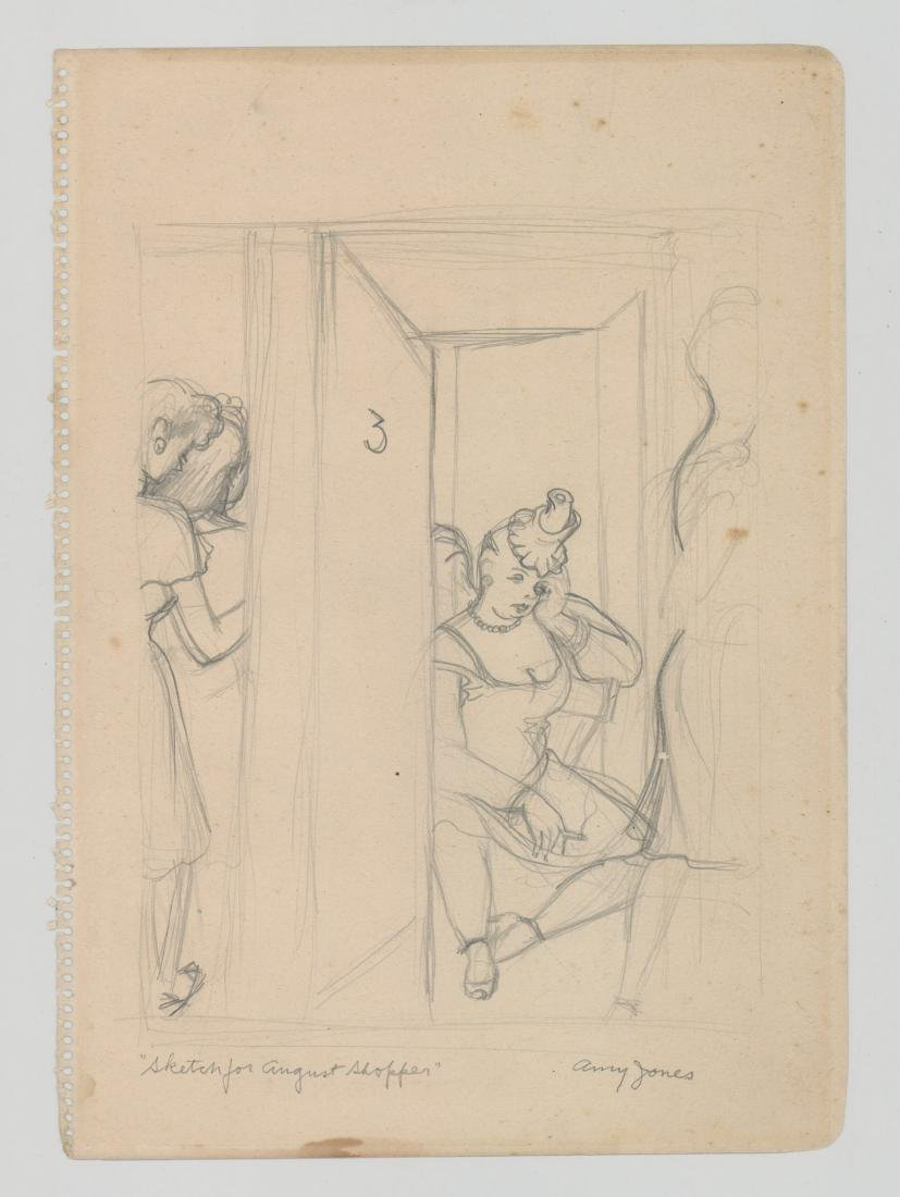 Amy (Frisbie Blair) Jones (1899 - 1992) Drawing - 2