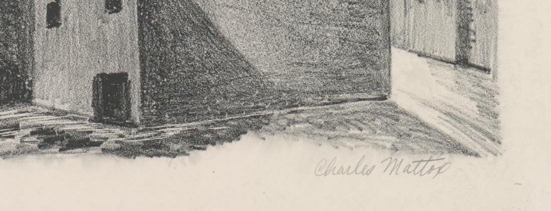 Charles Mattox WPA Era Lithograph - 3