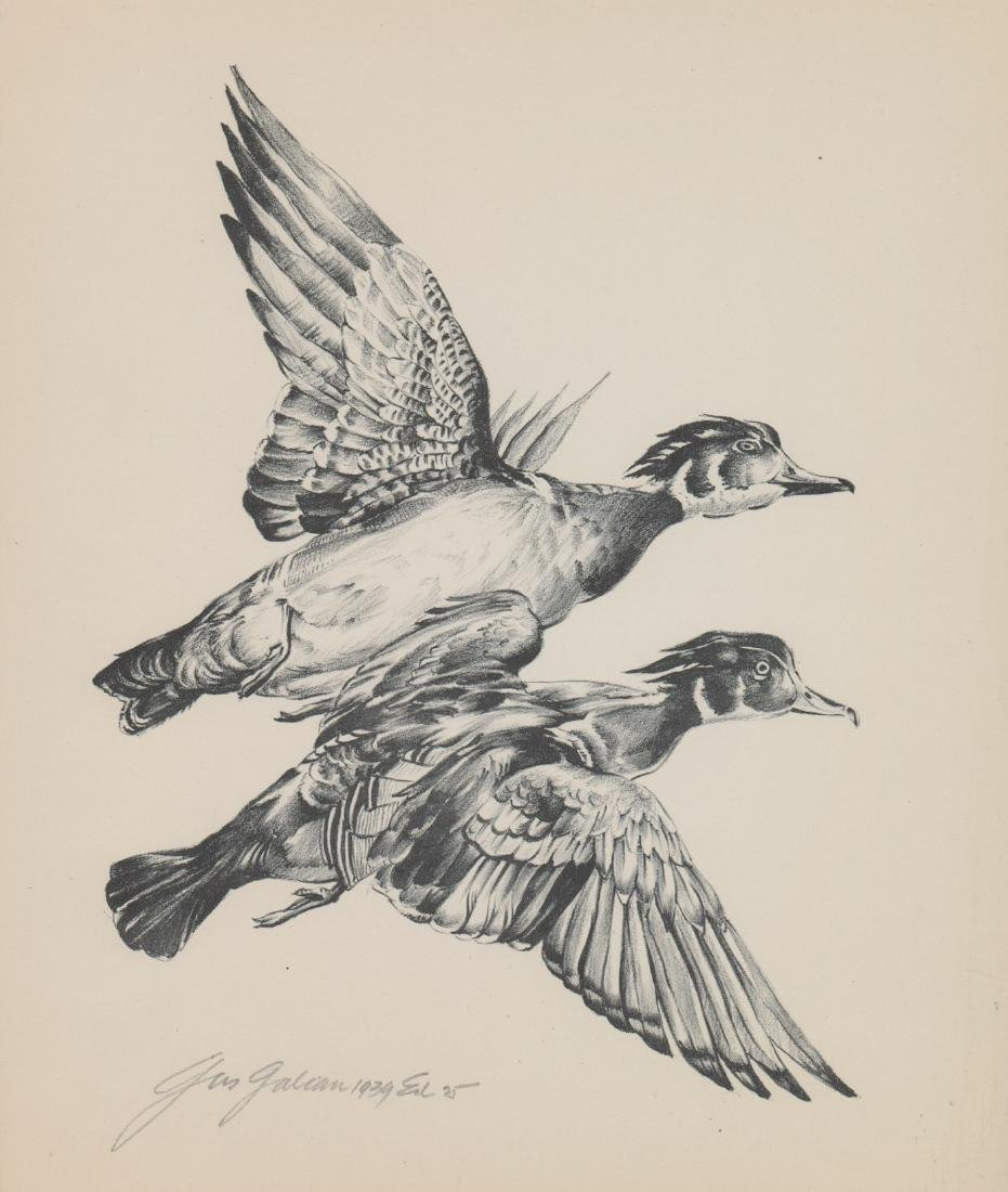Gus Galion Lithograph [Vacation Bound]