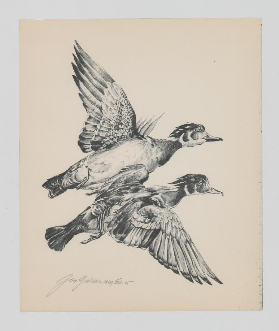 Gus Galion Lithograph [Vacation Bound] - 2