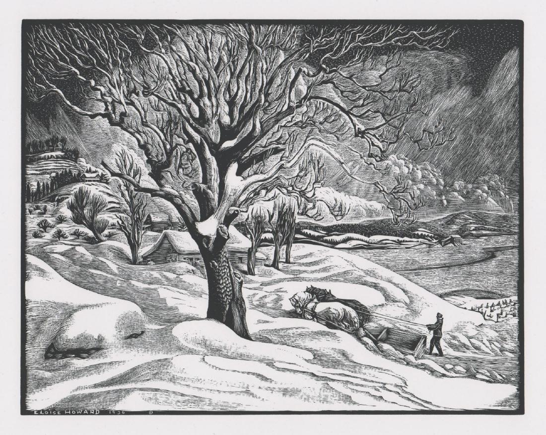 Eloise Howard Wood Engraving