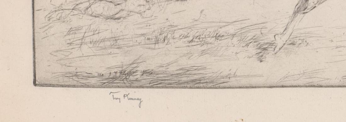 Troy Kinney (American 1871-1938) Etching - 3