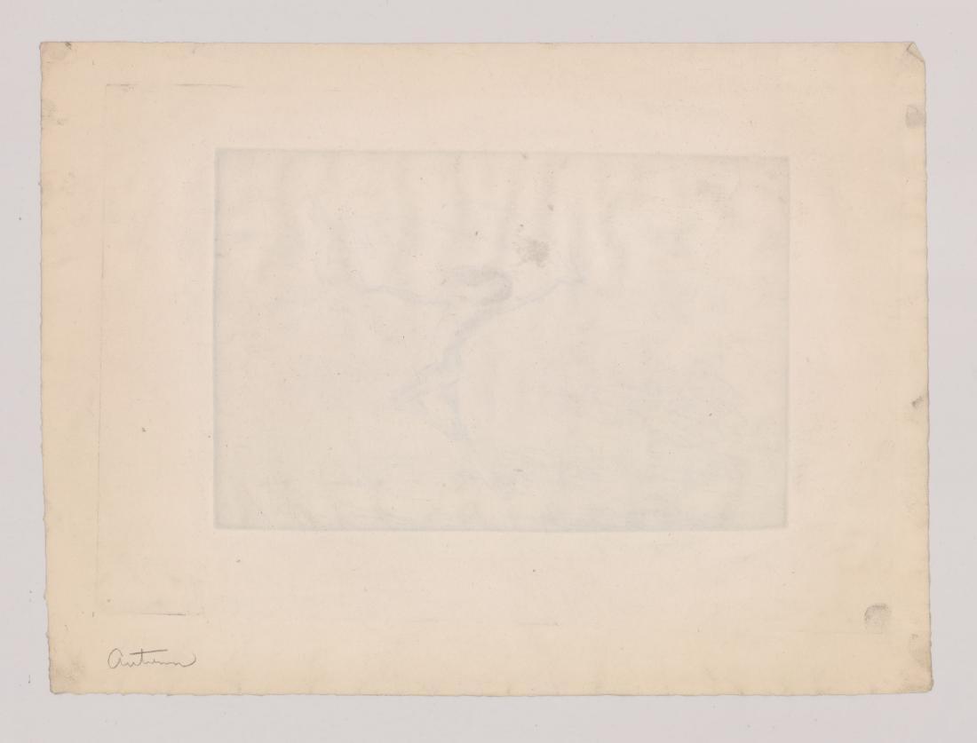 Troy Kinney (American 1871-1938) Etching - 4