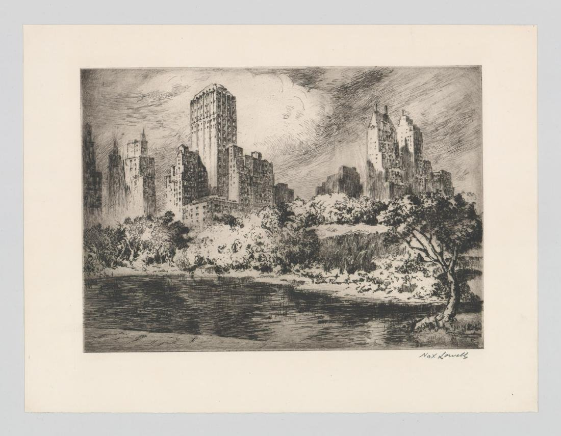 Nat Lowell (New York 1880-1956) Etching - 2
