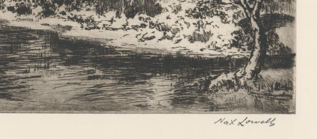 Nat Lowell (New York 1880-1956) Etching - 3
