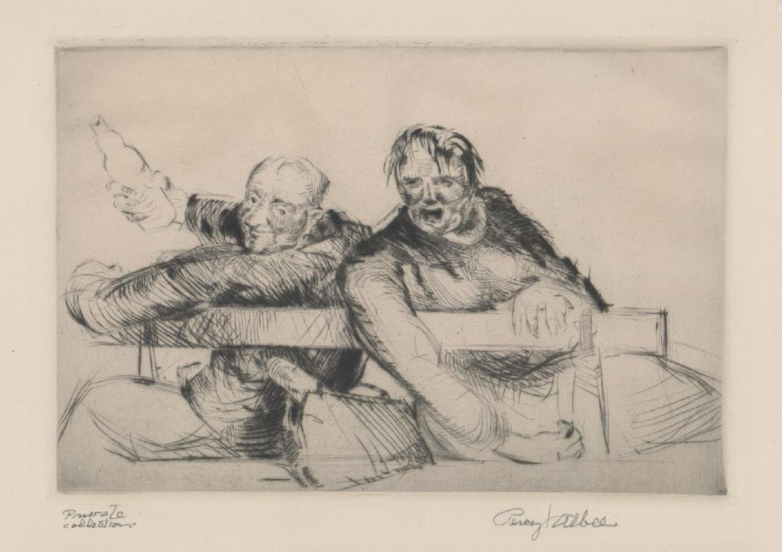 Percy Albee (1883-1959) Etching