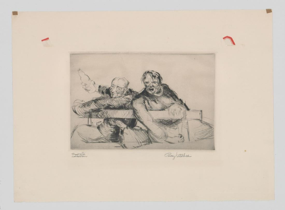 Percy Albee (1883-1959) Etching - 2