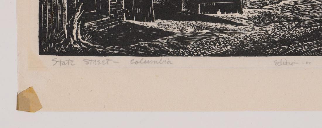 Charles Surendorf (1906-1979) Wood Engraving - 4