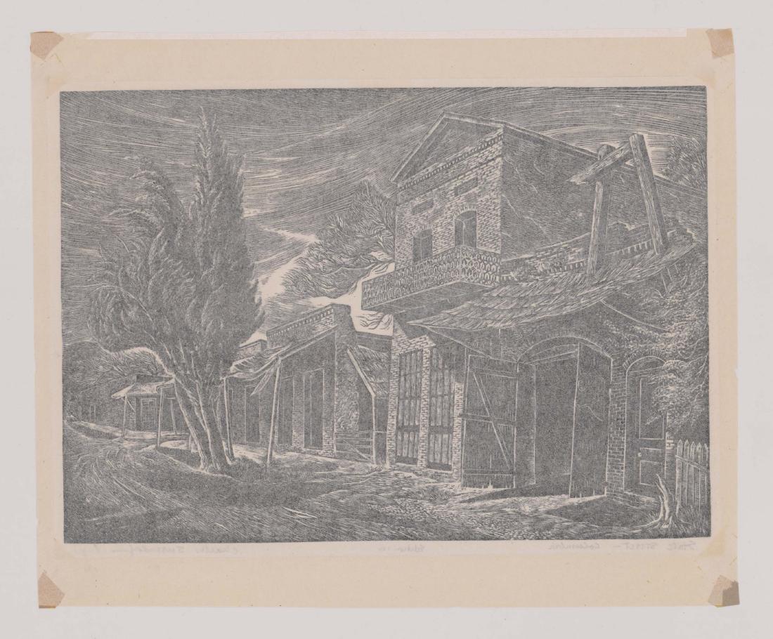 Charles Surendorf (1906-1979) Wood Engraving - 5